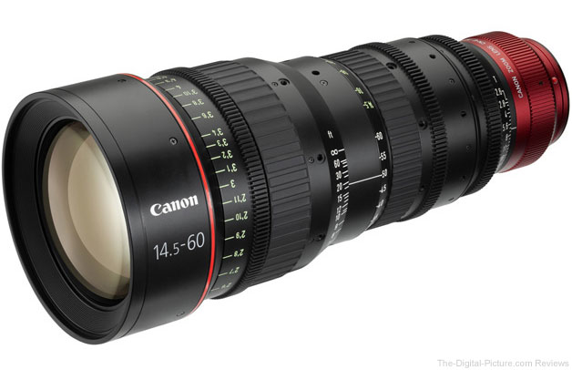 Canon CN-E Cinema Prime and Zoom Lenses
