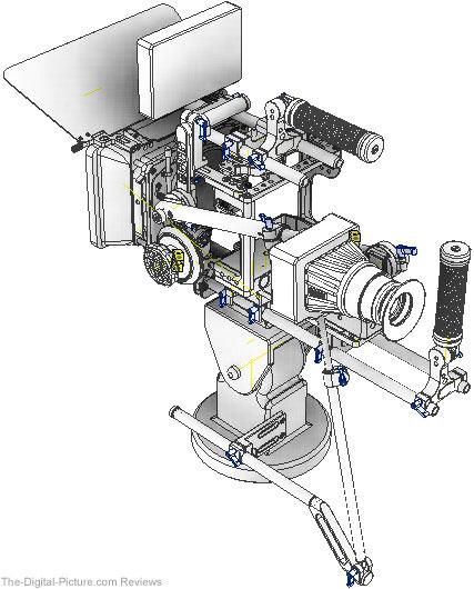 Shane Hurlbut Master Cinema Series Studio Cam HDSLR Rig