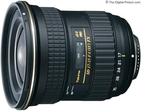 Tokina 17-35mm f/4 AT-X Pro FX Lens
