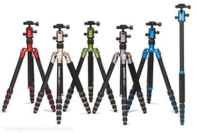 Benro MeFOTO Transfunctional Travel Tripods