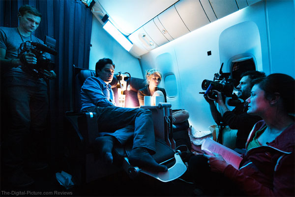 Canon Cinema EOS C300 Airplane Movie Behind the Scenes