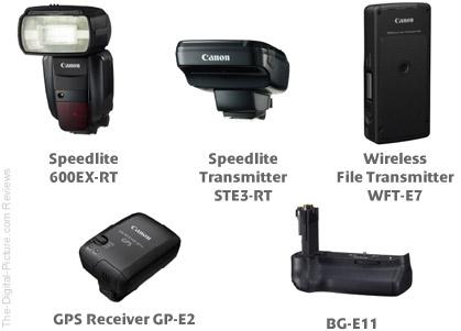 Canon March 2012 EOS DSLR Accessories
