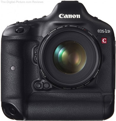 Canon EOS 1D C Digital SLR Camera Front