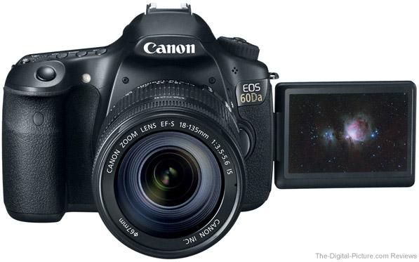Canon EOS 60Da DSLR Astrophotography Camera LCD Open