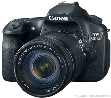 Canon EOS 60Da DSLR Astrophotography Camera