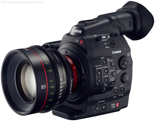 Canon EOS C500 4K Digital Cinema Camera