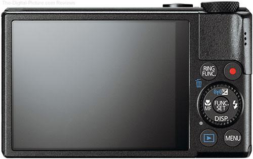 Canon PowerShot S110 Digital Camera Back