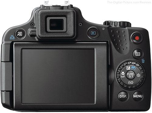 Canon PowerShot SX50 HS Digital Camera Back