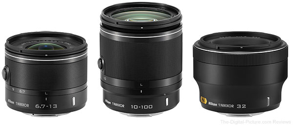 New Nikkor 1 Lenses