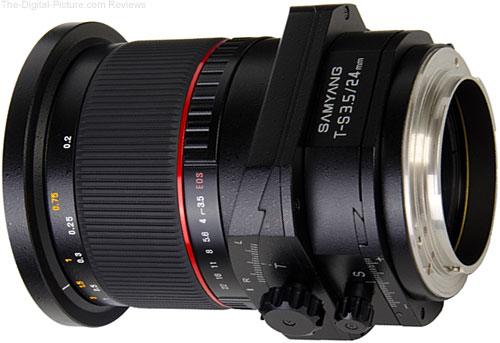 Samyang T-S 24mm 1:3.5 ED AS UMC Tilt-Shift Lens - 1