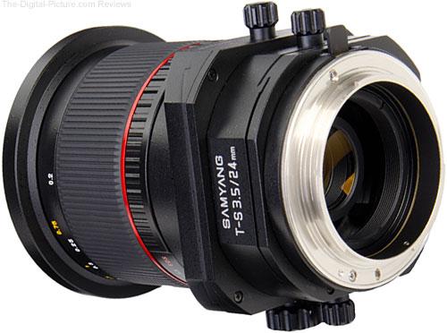 Samyang T-S 24mm 1:3.5 ED AS UMC Tilt-Shift Lens - 3