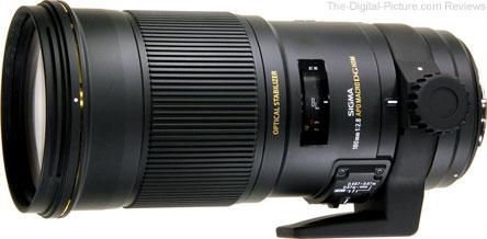 Sigma 180mm f/2.8 EX DG OS Macro HSM Lens