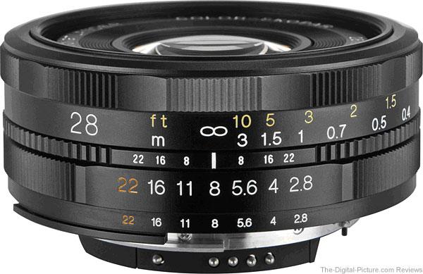 Voigtlander 28 mm f/2.8 Color Skopar SLII Lens