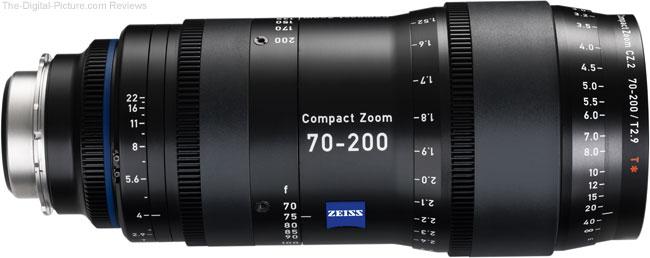 Zeiss CZ.2 70-200/T2.9 Compact Tele Zoom Lens