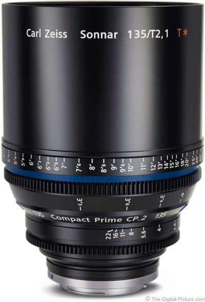 Zeiss 135mm Compact Prime Lens