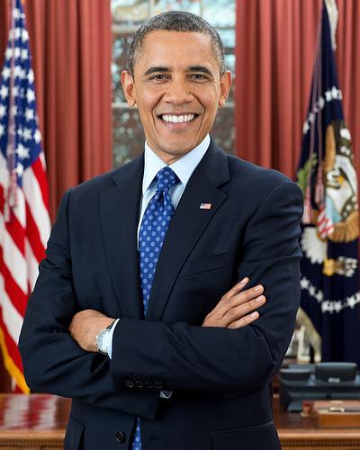 Barack Obama 2013 Official Portrait