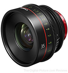 Canon Inc. Announces Development of 35mm Cinema Prime Lens