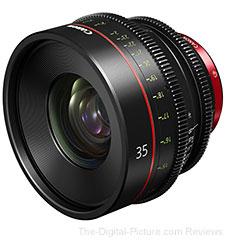 Canon 35mm Cinima Prime Lens