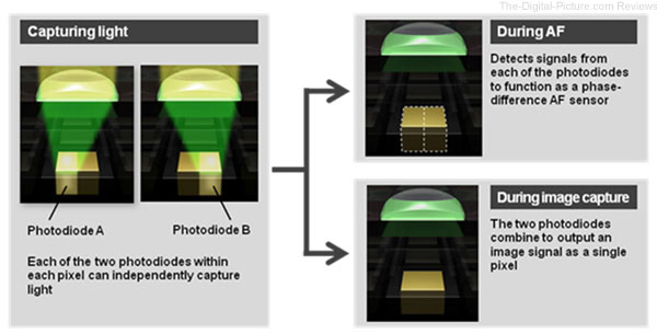 How Canon Dual Pixel CMOS AF Works
