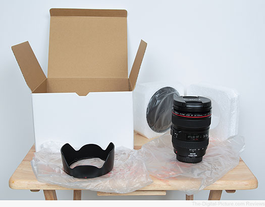 Canon EF 24-105mm f/4L IS USM Lens from BigValueInc