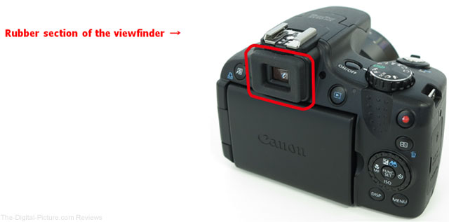 Canon PowerShot SX50 HS Digital Camera Viewfinder