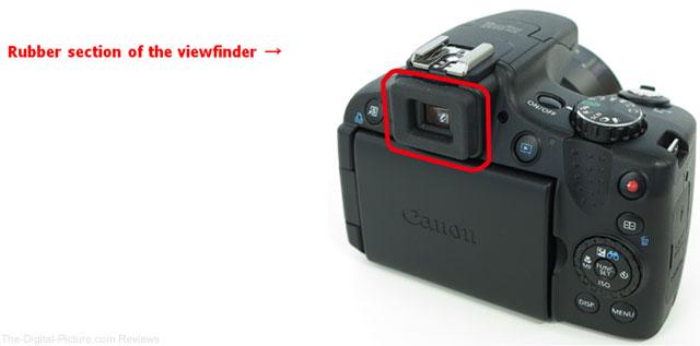 Canon PowerShot SX50 HS Digital Camera Viewfinder