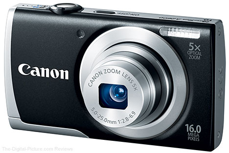 Canon PowerShot A2600 Digital Camera