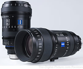 Carl Zeiss presents Compact Zoom Lenses at NAB