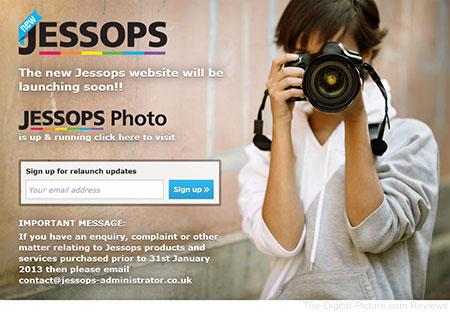 Jessops Website Preparing to Relaunch