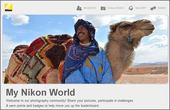 "Nikon Introduces ""My Nikon World"""