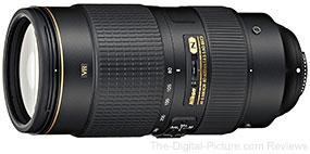 Nikon 80-400mm f/4.5-5.6G AF-S VR Lens