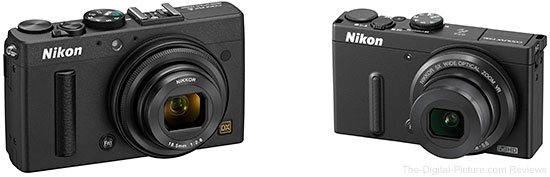 Nikon COOLPIX A and COOLPIX P330 Digital Cameras