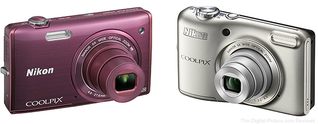 Nikon Coolpix S5200 and Nikon Coolpix L28