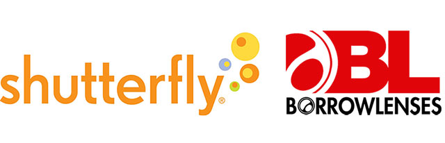 Shutterfly & BorrowLenses Logos