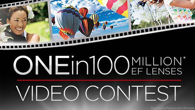 Canon 1 in a Hundred Million Video Contest