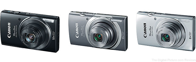 Canon Announces PowerShot ELPH 150 IS, PowerShot ELPH 140 IS and PowerShot ELPH 135 Digital Cameras