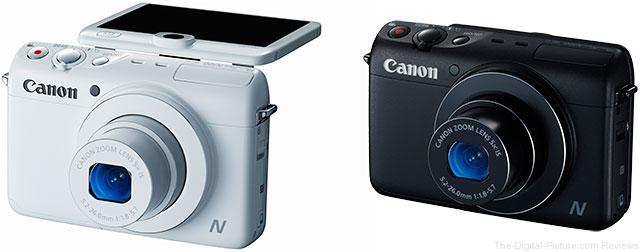 Canon PowerShot N100 Digital Cameras