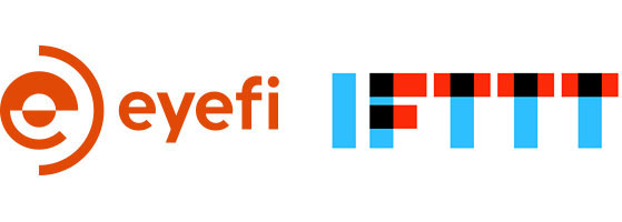Eyefi and IFTTT Logos