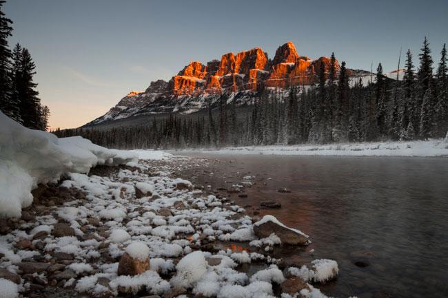 Jonathan Huyer – Winter Sunrise