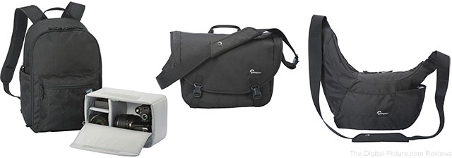 Lowepro Passport Backpack, Messenger & Sling III Camera Bags