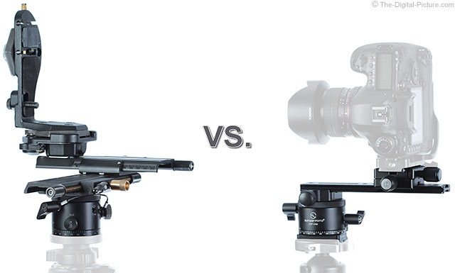 Manfrotto 303plus vs Sunwayfoto Pano Setup