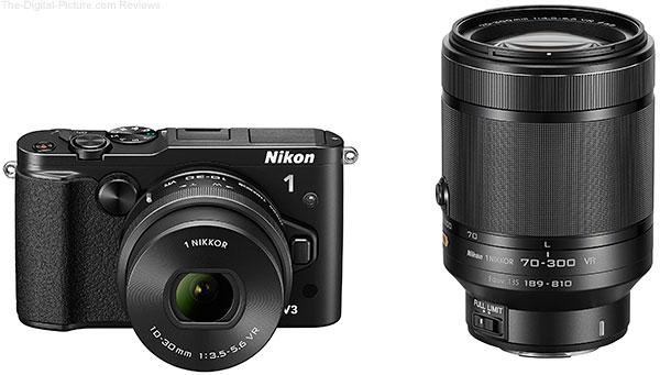 Nikon 1 V3 with 10-30mm PD-Zoom & 70-300mm VR Lenses
