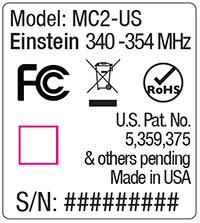 Pocketwizard Power MC Safety Notice 2