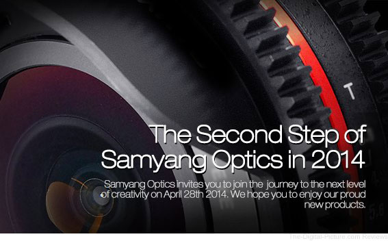 Samyang Hints at Lens Releases for April 28, 2014