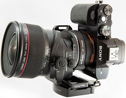 Fred Miranda Reviews the Sony A7R using Canon Lenses