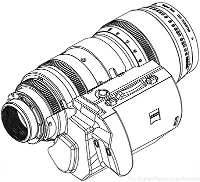 ZEISS Servo Unit for Compact Zoom Lenses