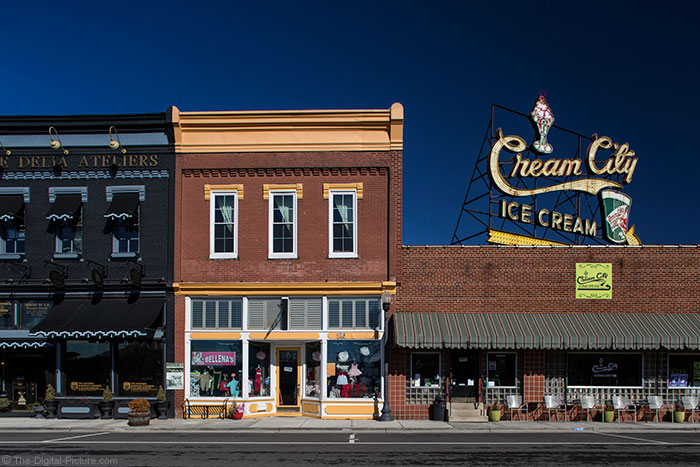 Broad Street with Cream City Sign