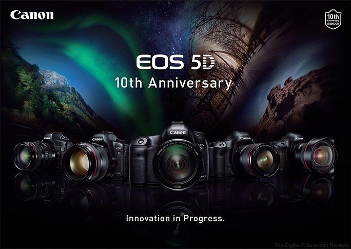 Canon EOS 5D Celebrates 10-year Anniversary