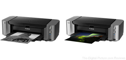 Canon PIXMA PRO-10S and PIXMA PRO-100S