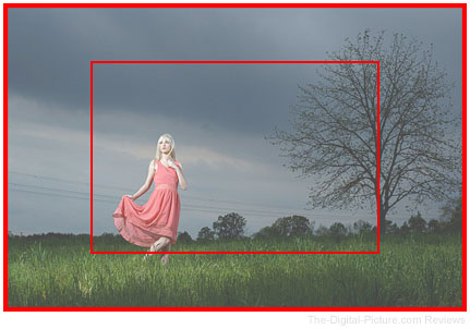 Full Frame Crop Sensor Overlay